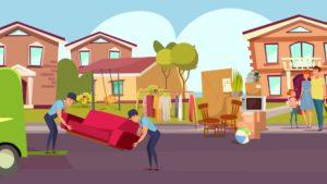 move to suburbs